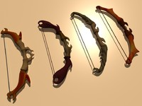 bows wood fbx
