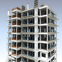 building construction 3d max