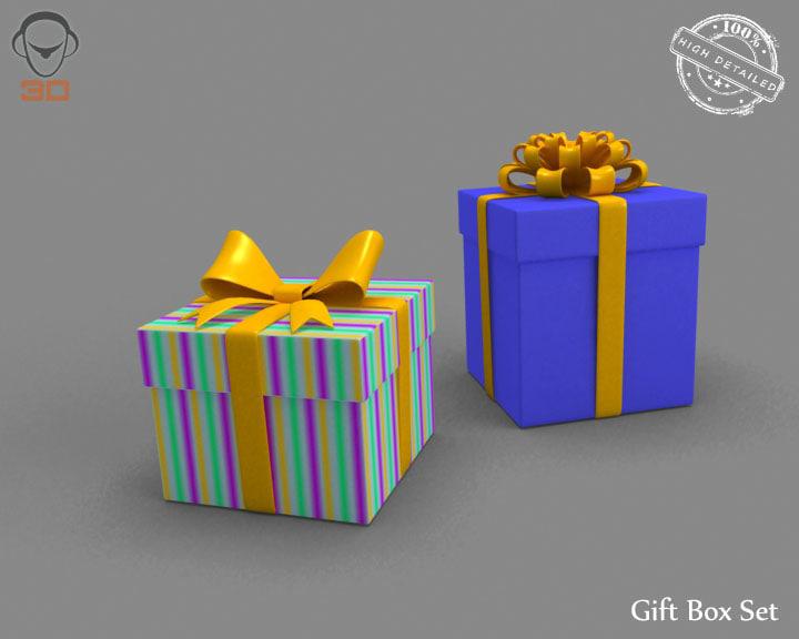 gift box set obj