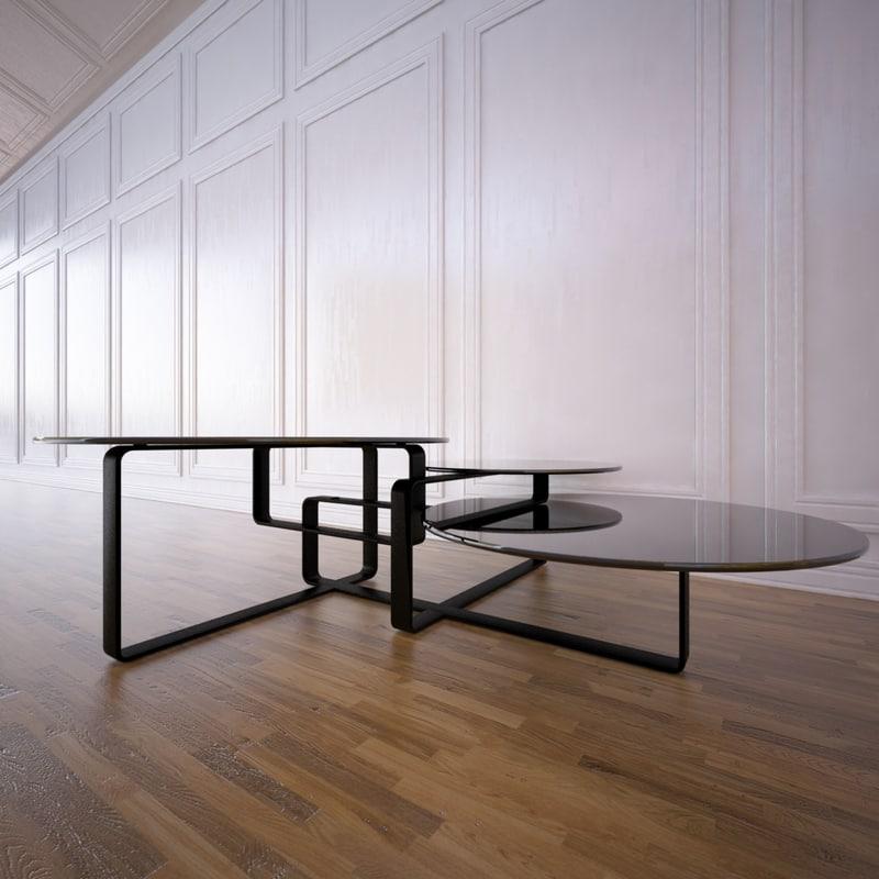 columbus table fendi 3d 3ds