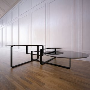 columbus table fendi 3d 3ds