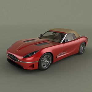 3d model lyonheart k convertible