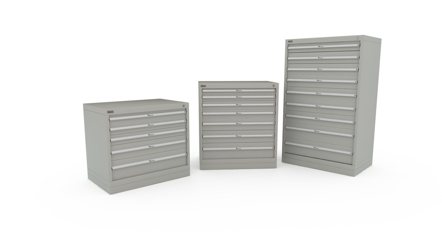 3d me-3105-3205-3405 tool storage chest model