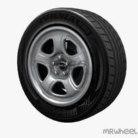 wheel mrwheel 3d model