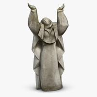 Nun Sculpture
