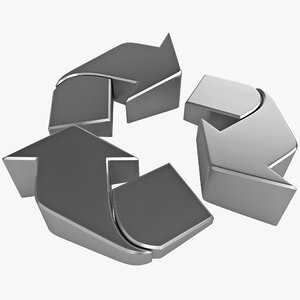 3ds max recycle symbol