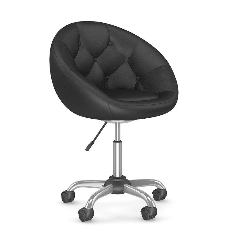 c4d swivel chair