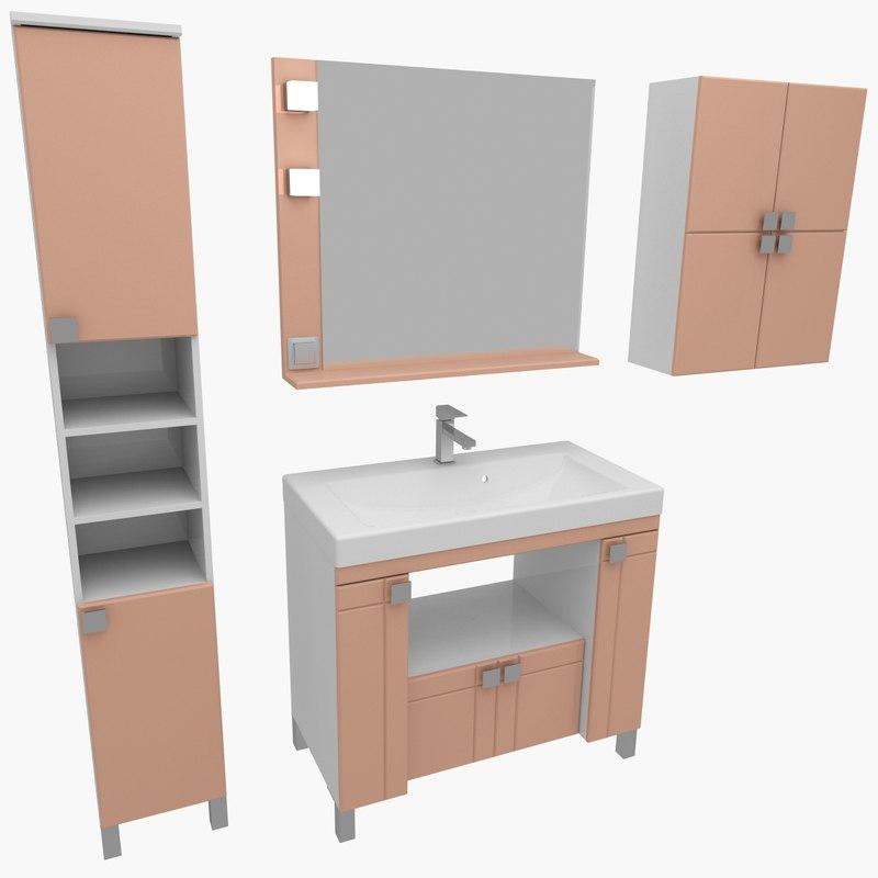 x bathroom furniture