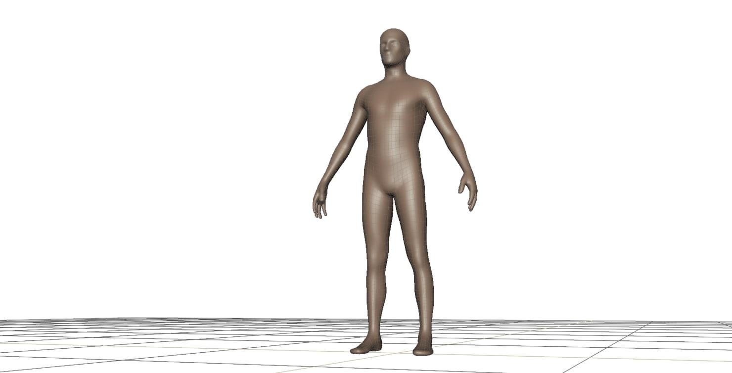 free man 3d model