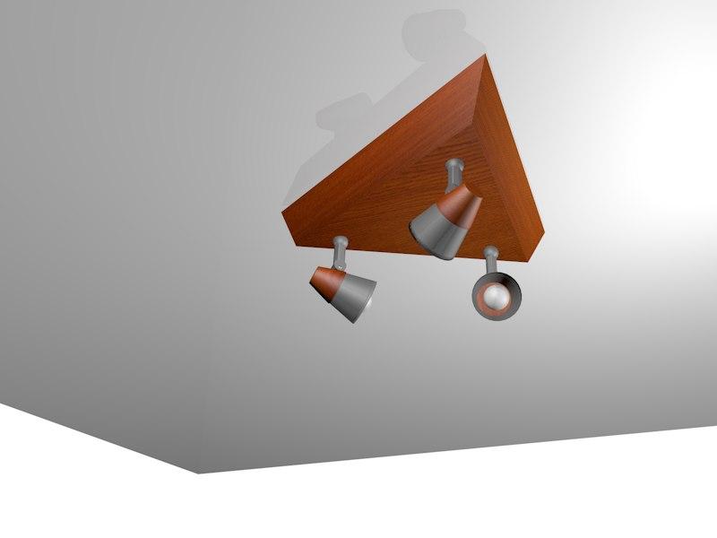 3d c4d modern lamp