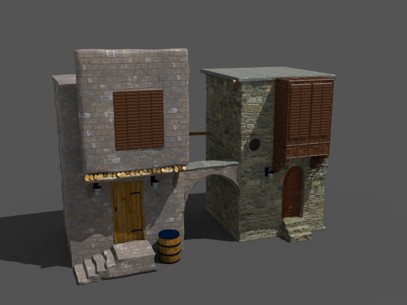 old arab house2 3d max