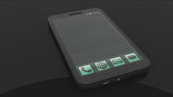 obj generic smartphone phone