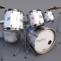 highwood drumset 3d model