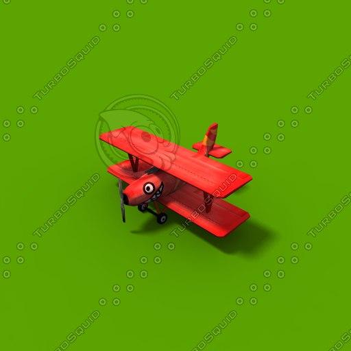 3d enemy plane