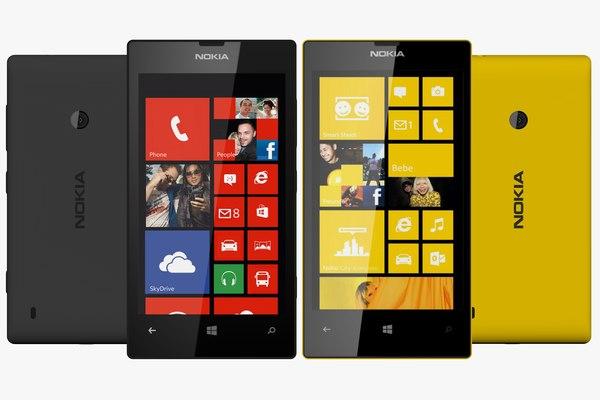 3dsmax nokia lumia 520 black