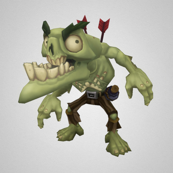 monster zombie snapper 3d ma