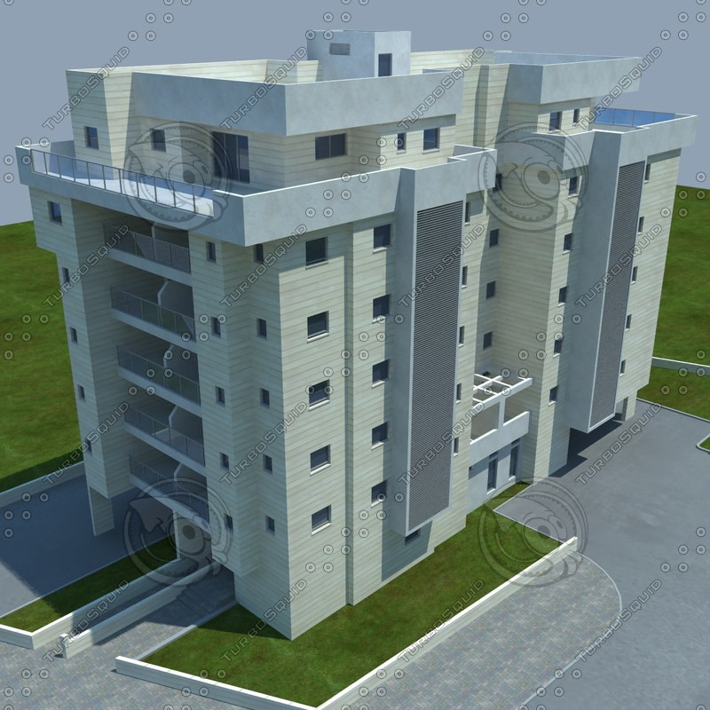 buildings 1 4 obj