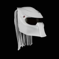 3d racing predator helmet