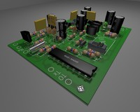 HD Printed circuit board