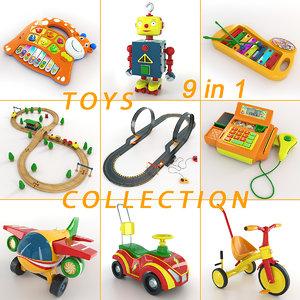 3d toy 9 1 model