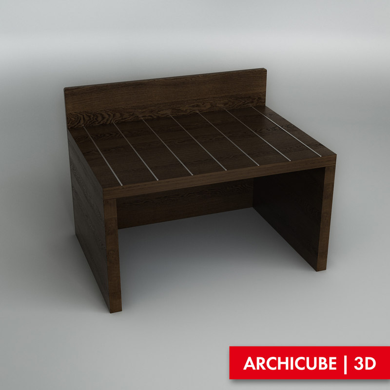 luggage rack 3d obj