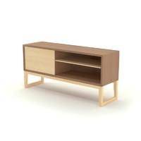 free bauhaus sideboard 3d model