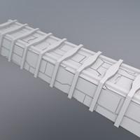 structural beam 3d model