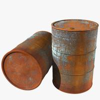 Old Rusty Barrel