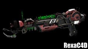 3d raygun mark ii model