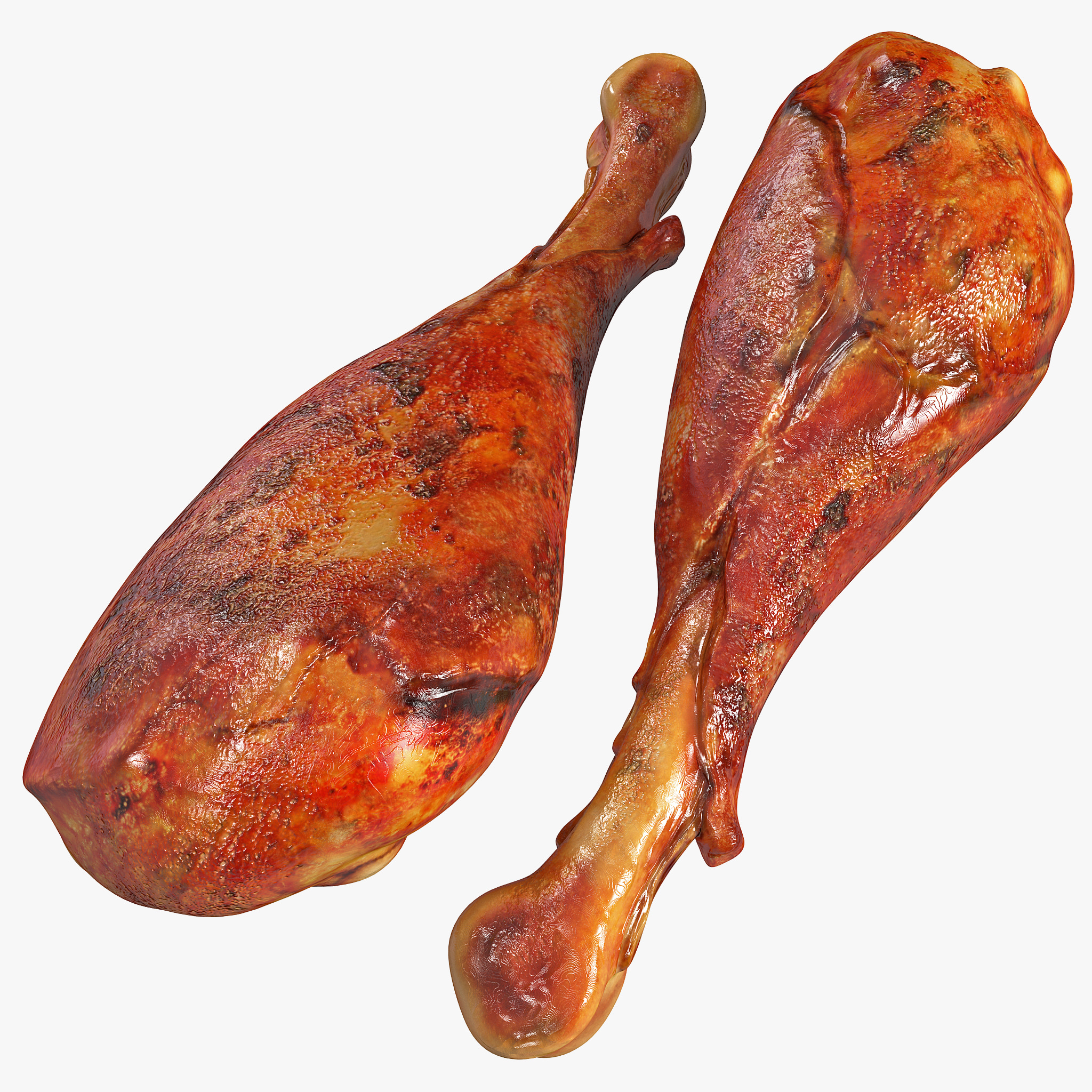 smoked turkey leg