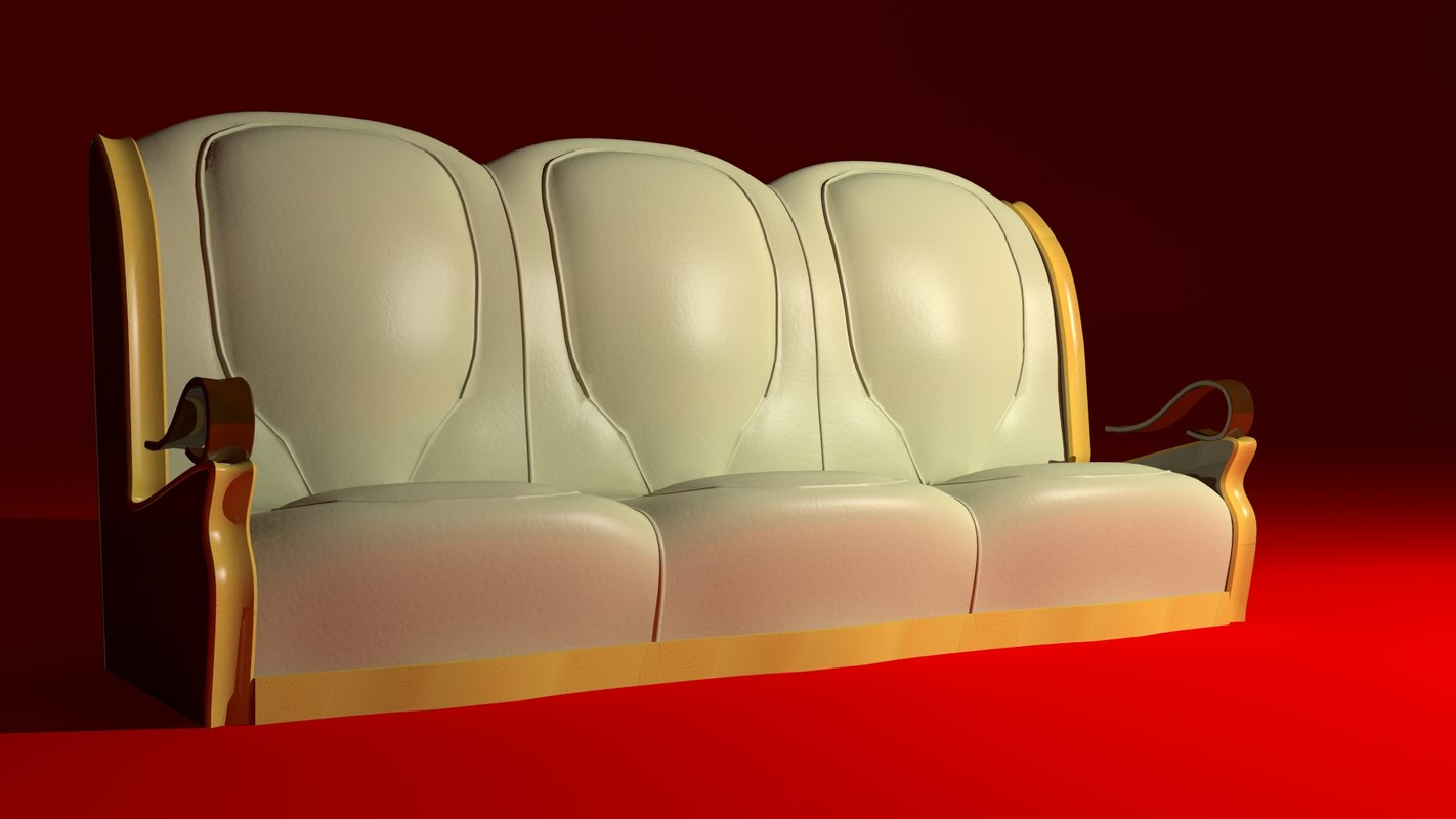 3ds max buy armchair sofa
