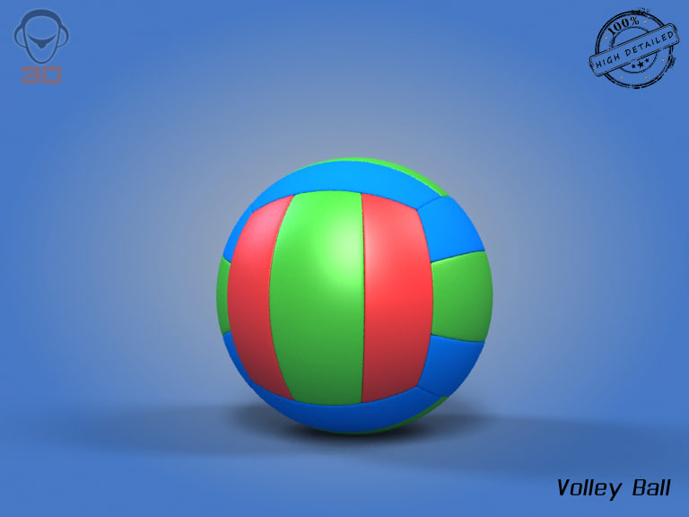 realistic volley ball 3ds