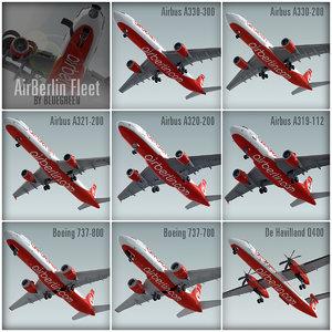 max plane airberlin fleet
