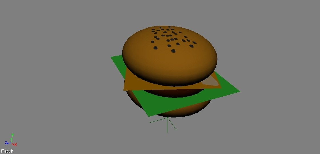 fbx hamburger lettuce cheese