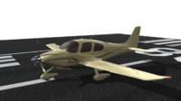maya cirrus plane