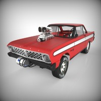 1964 Ford Falcon Drag Racer