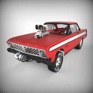 3d gasser car