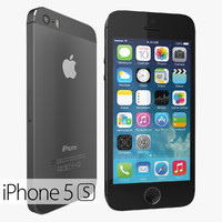 version apple iphone 5s 3d max