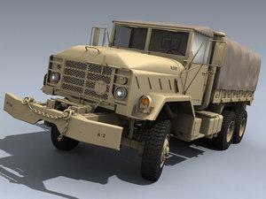 army m925 desert 3d model