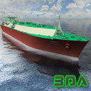 LNG tanker ship Quatar Gas 137000cm