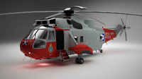 3d model sikorsky westland sea king