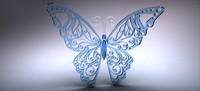 free butterfly 3d model
