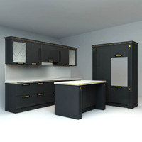 scavolini kitchen 3ds