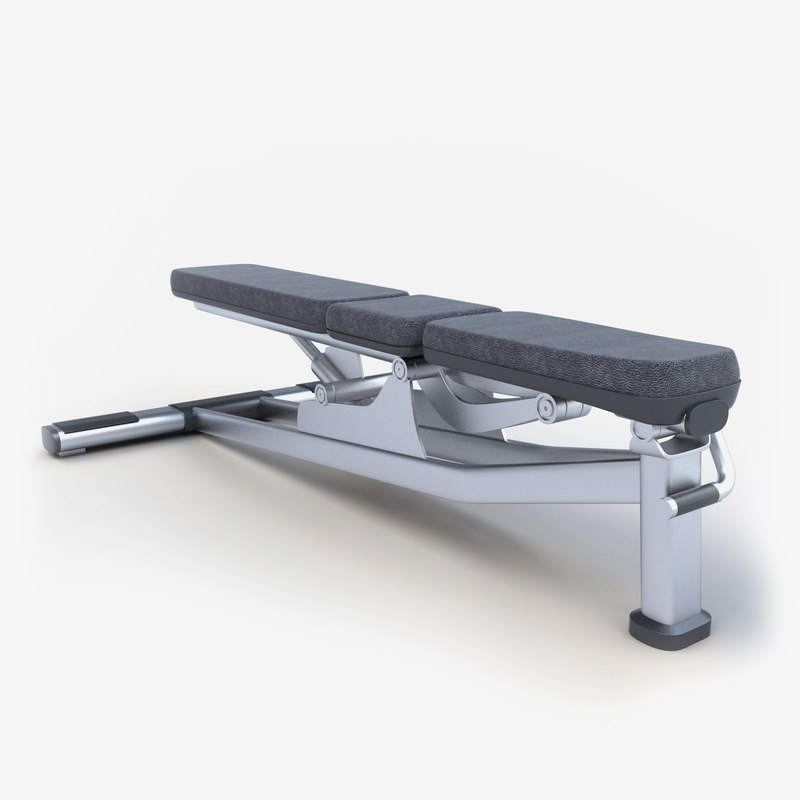 3ds max bench exercise