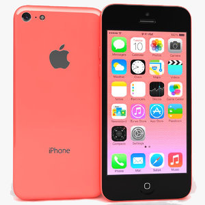 apple iphone 5c pink x