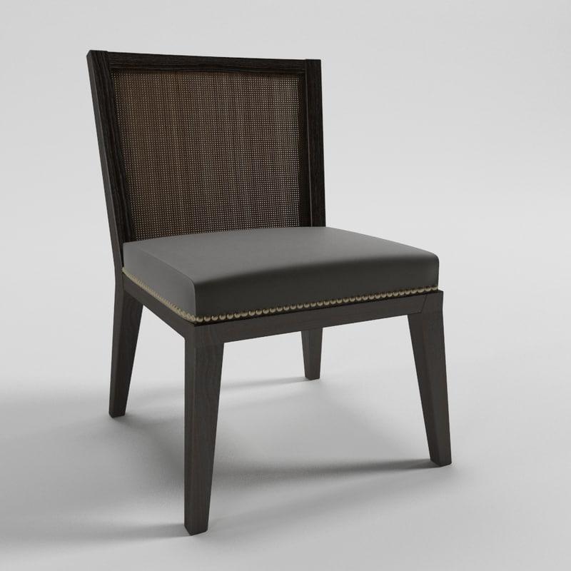asia chair - artefacto 3d model