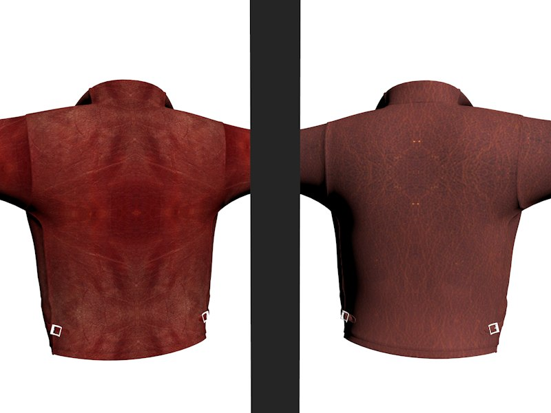 leather jackets 3d model
