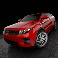 range rover evoque 3d 3ds