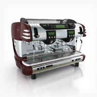 3d model espresso coffee machine