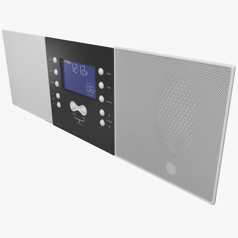 3d model indoor intercom